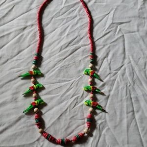 Jewelry - Tropical Parrot Necklace